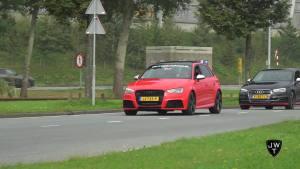 奥迪RS3 Sportback排气声浪展示!性能小钢炮
