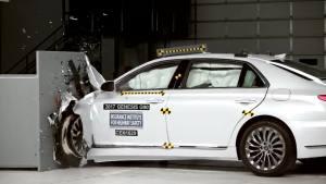 2017款 Genesis G90 美国公路安全保险协会碰撞测试