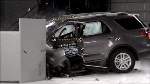 2014款 福特 探险者 美国高速安全保险协碰撞测试