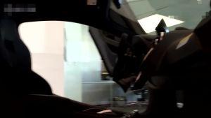 迈凯伦570S 霸气玛瑙黑车身实拍