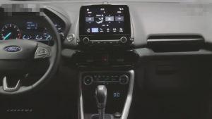新款福特翼博 车内显示屏媲美小型影院