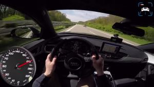 第一视角  暴力试驾 750马力 奥迪 RS6 PP性能改装