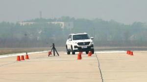 宝骏530超级评测高速躲避障碍物测试