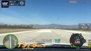风神AX7超级评测0-100km/h加速车内视角