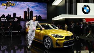 宝马x2北美车展抢先体验,明年国产,挑战奔驰GLA?