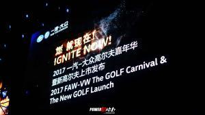 激情,活力,放松,愉悦的全新高尔夫上市发布会!