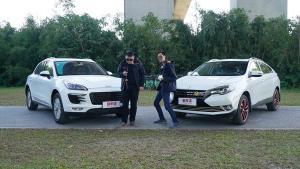 新车评let's购:保时捷Macan对宝马X6,假的!