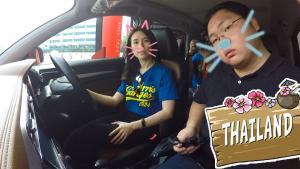 泰国小姐姐教老司机开右舵ZS