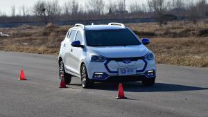 江淮iEV7S 100-0km/h空载刹车测试