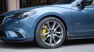 马自达阿特兹改装TEI Racing P60S大六刹车套装