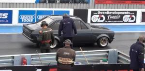 大众经典的车型高尔夫Mk2,一般跑车还真跑不过它!