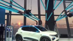 雷诺发布A级电动车K-ZE,续航250公里,明年中国上市