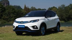 东南DX3 EV400 小型纯电动SUV中的全新选择