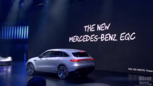 丝毫不差,奔驰在巴黎车展上是这样发布全新EQC的