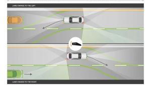 18款奔驰S350改装智能驾驶辅助23P展示主动车道保持