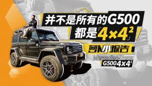 《萝卜小报告》并不是所有的G500都是4×4²