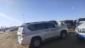 穿越沙漠,普拉多2700安装机械增压,走更远的路
