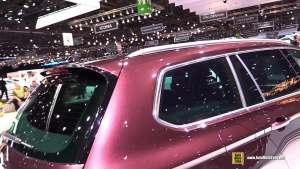 2018款大众迈腾旅行版R-Line日内瓦车展实拍