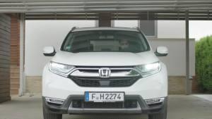 2019款本田CR-V Hybrid动态实拍