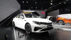 2018广州车展 起亚K5Pro亮相 16.48起售
