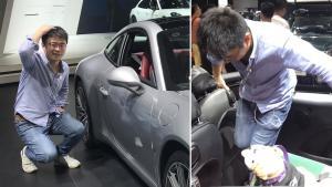 """广州车展:""""勉为骑男""""的后排座椅"""