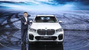 2018广州车展-全新一代宝马X5亚洲首发