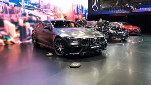 2018广州车展实拍——AMG GT 4门仅仅是多了两个门吗