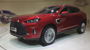 2018广州车展: WEY P8 GT跨界SUV