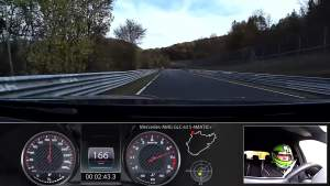 7分49秒3 奔驰AMG GLC 63 S 4MATIC+纽北最快SUV圈速