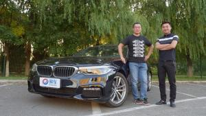 暗香盈袖 旭子卞亚梦深度体验BMW 525Li M运动套装