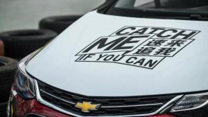 雪佛兰直通NASCAR的挑战赛