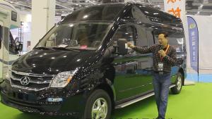 中国品牌高端房车的优秀作品!实拍大通改装房车!