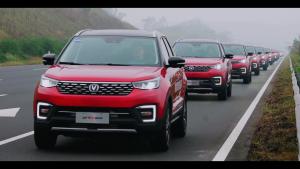 55辆自动驾驶车巡游挑战成功,太震撼了!