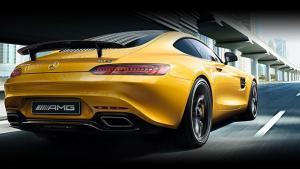 梅赛德斯-AMG GT 4门轿跑:生命是一种竞赛