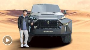 让库里南侧目的最贵SUV 全球独家体验卡尔曼国王