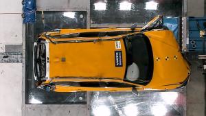 全新沃尔沃V60安全碰撞测试 北欧旅行的简约奢华