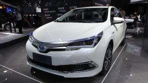 引领混动新时代 卡罗拉双擎瞩目亮相广州车展