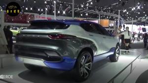 车展现场拍摄,意大利新概念车,含有科幻的设计风格