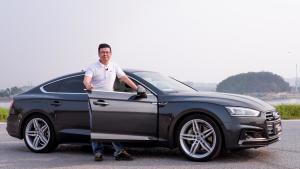 奥迪A5四门,迷人颜值加优异性能,完美轿跑伴侣车?