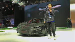 北京车展静态体验:前途汽车K50