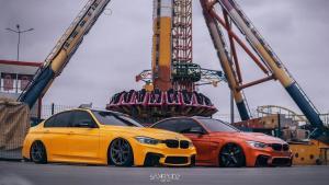 橙黄兄弟,宝马 M3