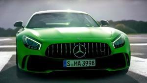 梅赛德斯-AMG GT 飙车体验 Top Gea