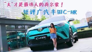 """""""大""""才是最诱人的荷尔蒙!短评广汽丰田C-HR"""