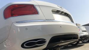 2018款宾利飞驰v8双涡轮增压发动机来袭!完美诠释了老