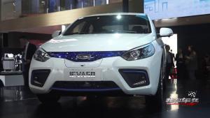 最高续航500KM,江淮iEVA50北京车展上市
