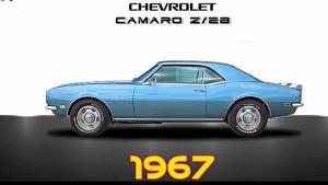 雪佛兰CAMARO——从1967到2018经典之作
