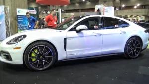 油混超跑 2018款保时捷帕纳梅拉E-Hybrid高清实拍