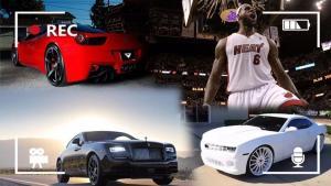 NBA新皇詹姆斯,买车口味很独特?潜入他的车库瞧瞧去