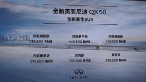 全新英菲尼迪QX50发布会暨城市创新摄影大赛圆满落幕
