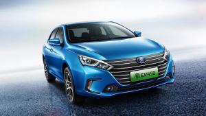 重庆车展上最引人注目的电动车就是它